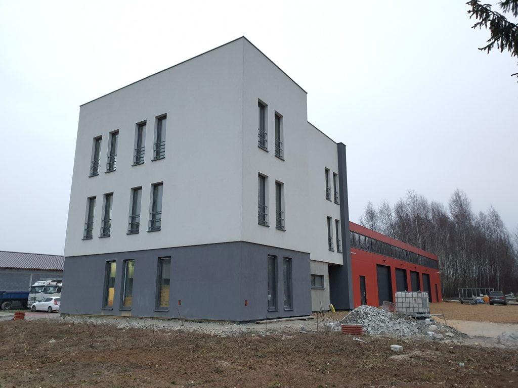 Budowa budynku biurowego i magazynu
